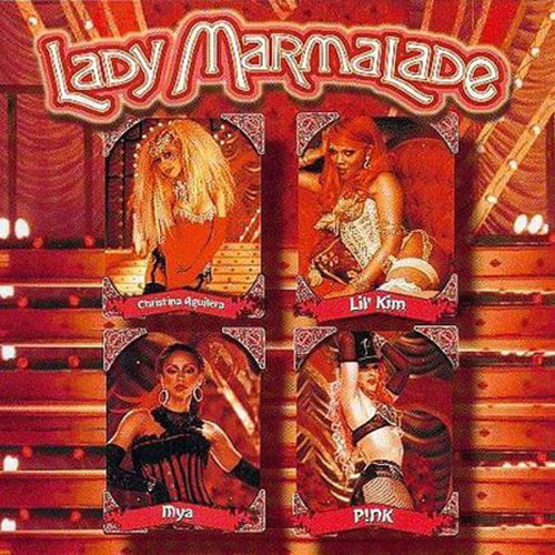 Christina Aguilera, Mya, Lil Kim, Pink - Lady Marmalade (Midifile & Playback)