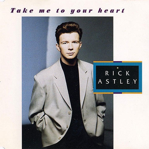 Rick Astley - Take me to your heart (Midifile & Playback)