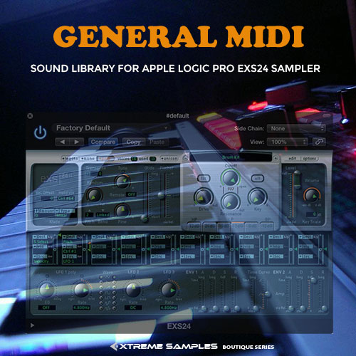 Xtreme Samples - Boutique GM (EXS24 Sampler Bibliothek) (Midifile & Playback)