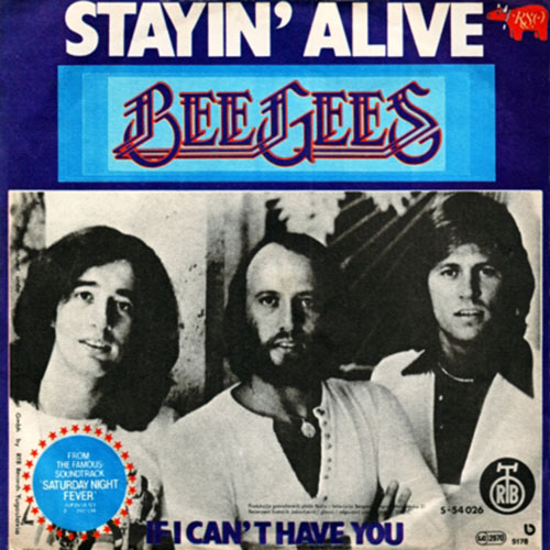 Bee Gees - Stayin' alive (Midifile & Playback)